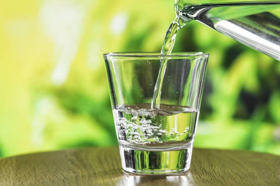 Baixo consumo de líquidos