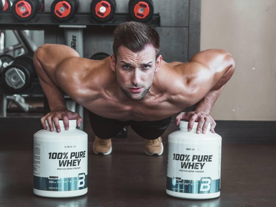 Beber batidos de proteína