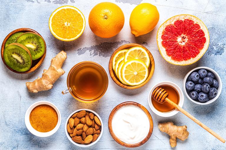 Os 10 melhores alimentos para o sistema imunitário